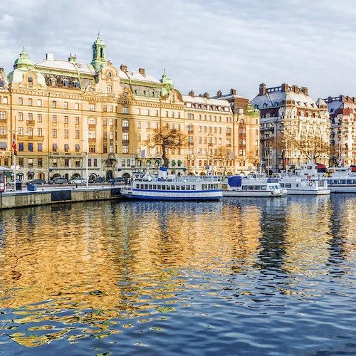 Crucero de invierno por Estocolmo