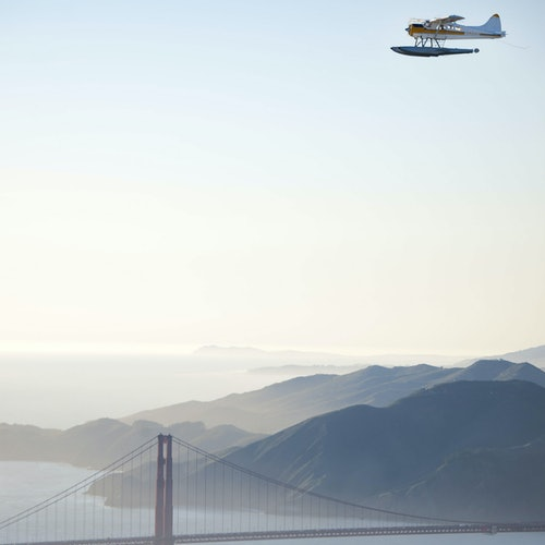 Viaje en hidroavión por California