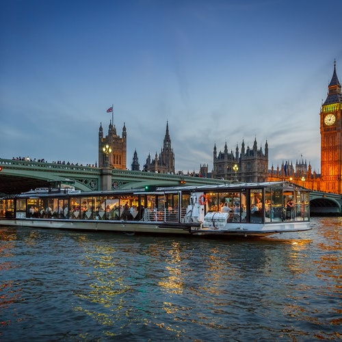 Crucero + Cena por Londres
