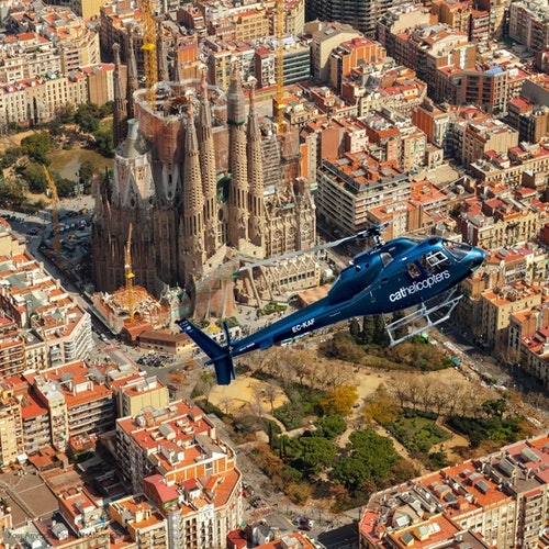 Barcelona Skyline Helicopter Flight