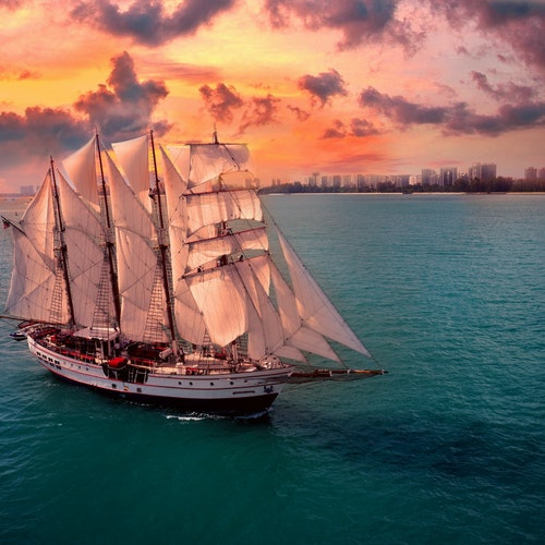Royal Albatross Tall Ship Singapur