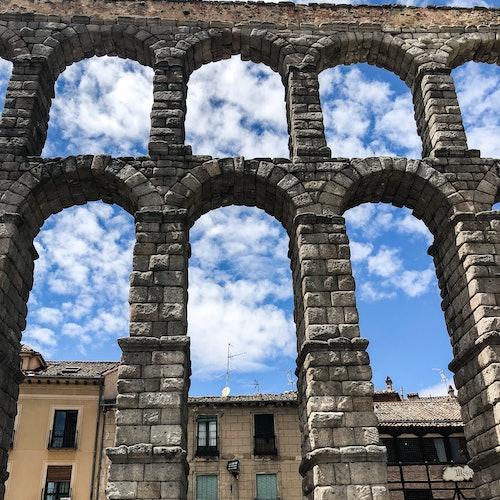 Acueducto de Segovia + Arquitectura Mudéjar: Visita guiada + Tarjeta de Segovia