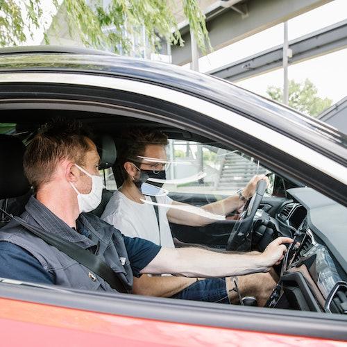 Experiencia de conducción todoterreno