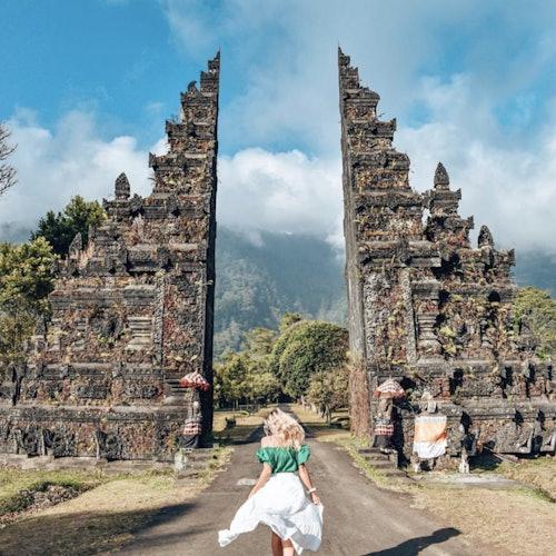 Tour privado de la puerta de Handara y sitios Patrimonio de la Humanidad de Bali