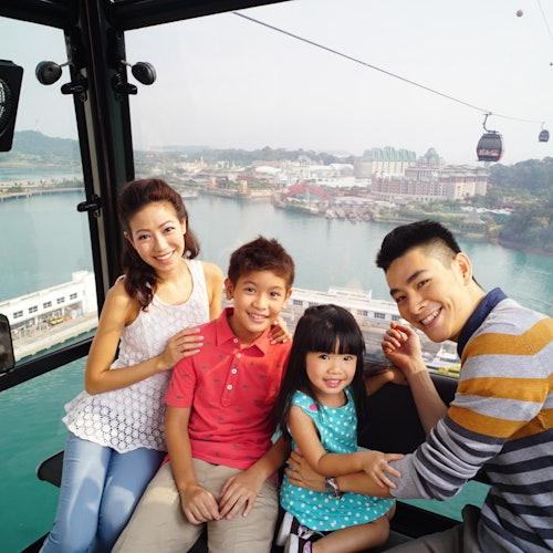 Combo teleférico de Singapur + Comida/Cena