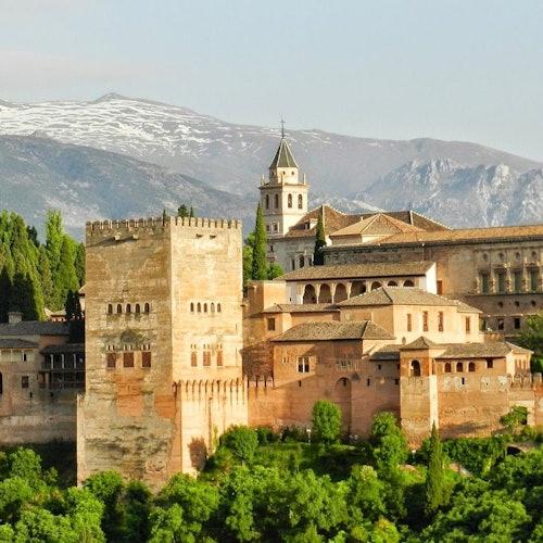 Alhambra + Palacios Nazaríes: Sin colas
