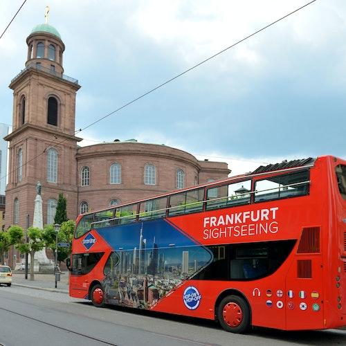 Bus turístico de Fráncfort