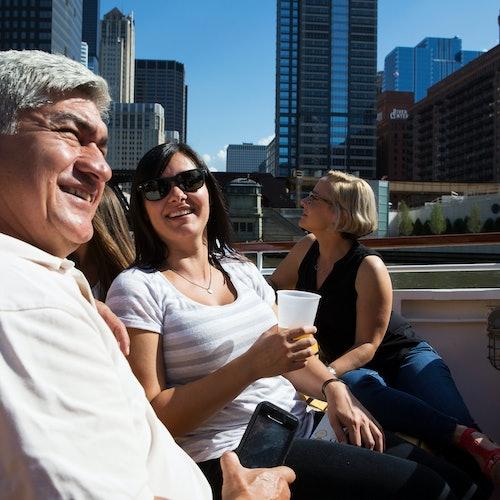 Crucero arquitectónico por el río Chicago