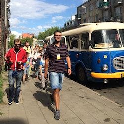 Retro Bus Tour Dark Side of Warsaw