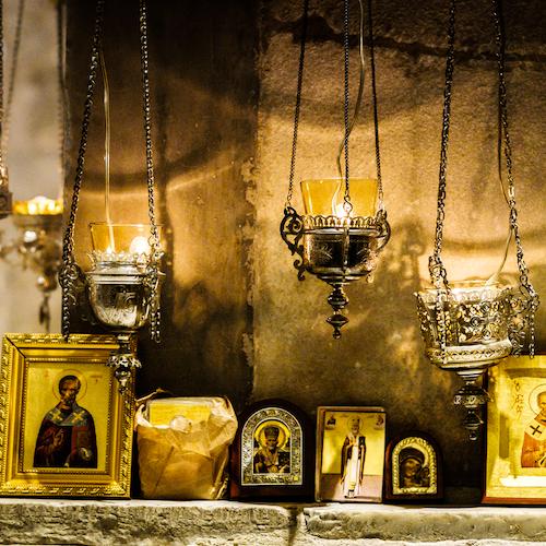 Basílica de San Nicolás y cripta: Visita guiada