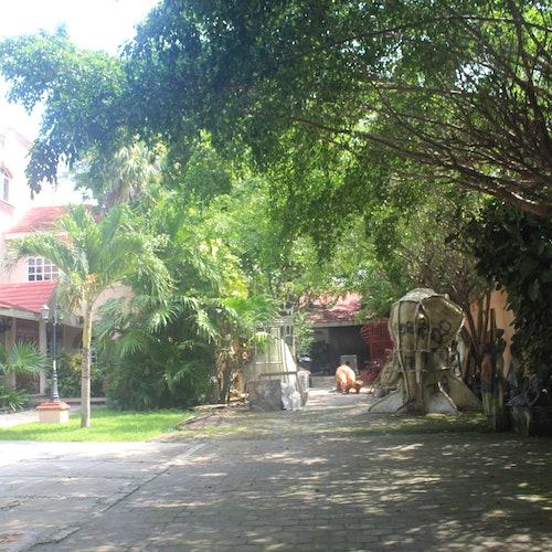 Museo Subacuático de Arte: Centro de visitantes