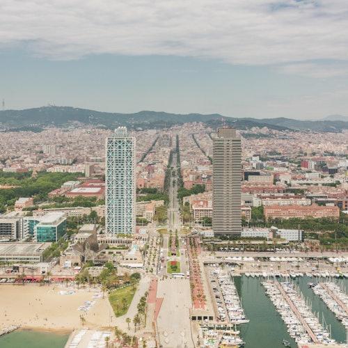 Barcelona Coast Helicopter Flight