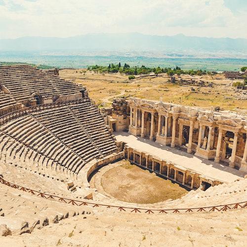 Hierapolis & Travertines of Pamukkale: Day Tour from Antalya