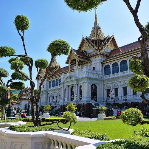 El Gran Palacio, Wat Pho y Wat Arun: Visita guiada de medio día