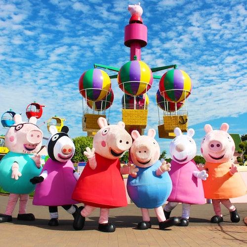 Excursión exprés a Peppa Pig World desde Londres