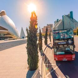 Hop-on Hop-off Bus Valencia & Oceanogràfic Admission