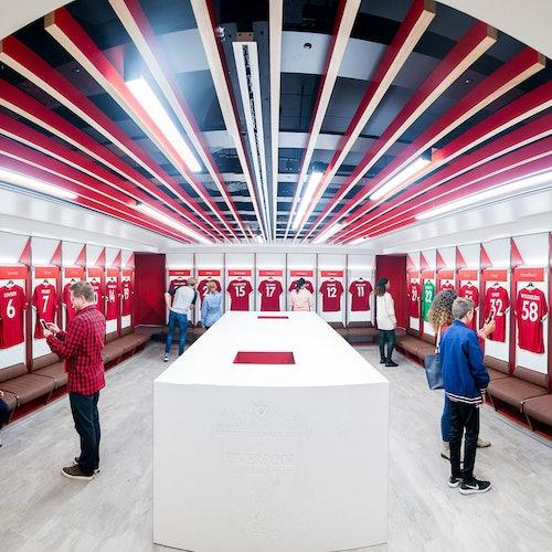 Liverpool FC Stadium Tour + Audio Guide   Marriott