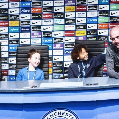 Tour del estadio del Manchester City