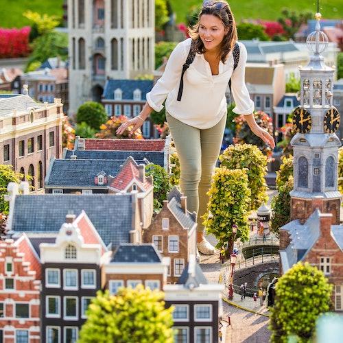 Gran Tour de Holanda desde Ámsterdam: Madurodam, Royal Delft, Euromast