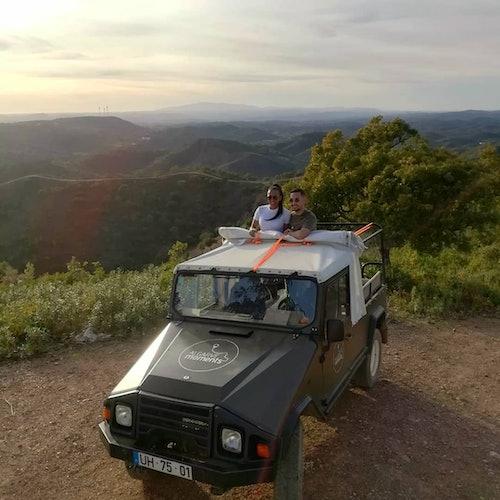 Tour de safari en 4x4 por el Algarve al atardecer desde Albufeira