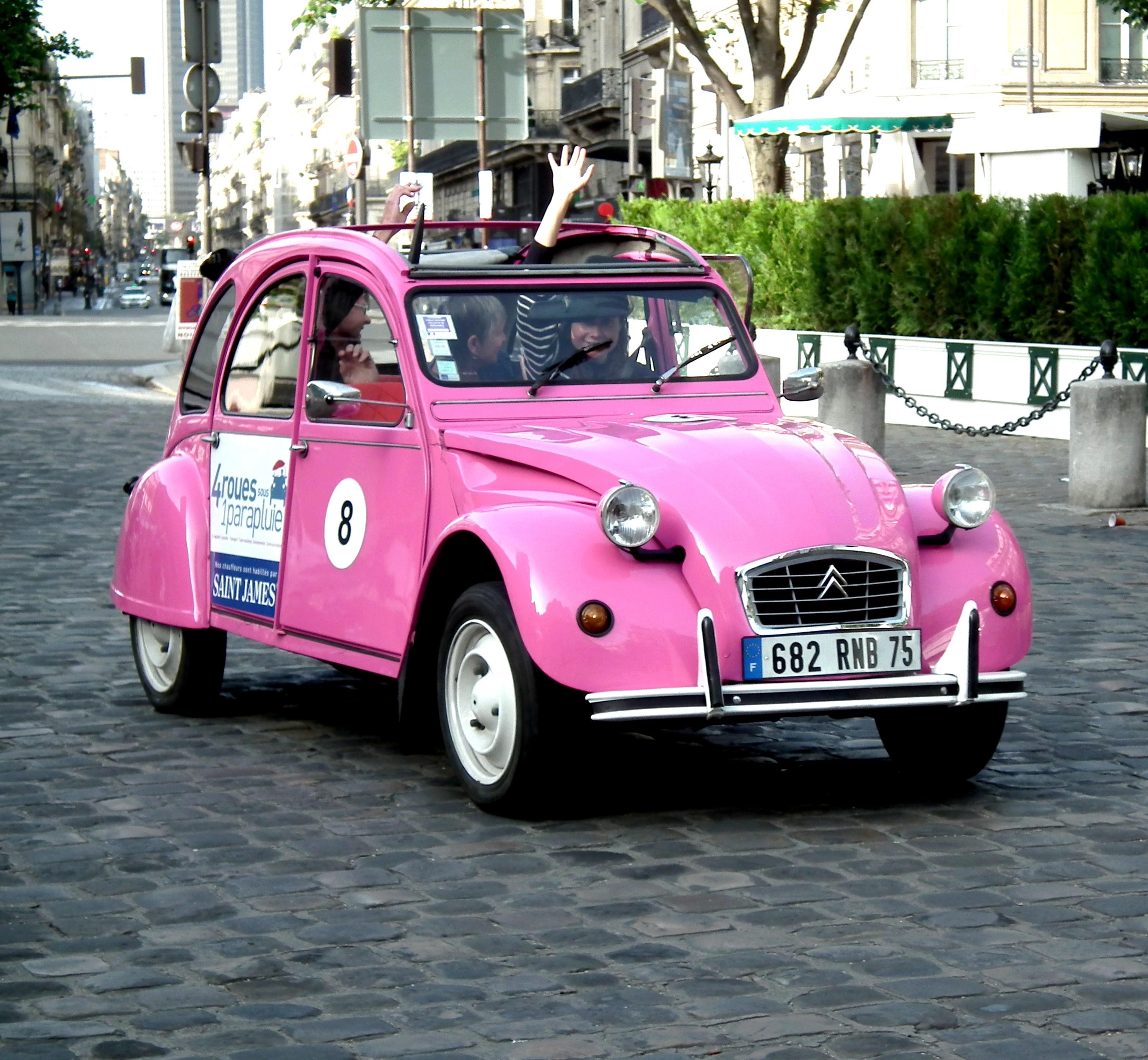 Support Smartphone Citroën 2cv