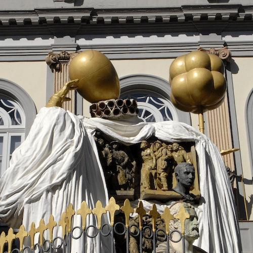 Teatro-Museo Dalí: Sin colas + Tren desde Barcelona
