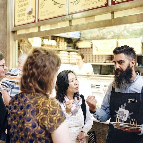 El mejor tour gastronómico del mercado de la Reina Victoria