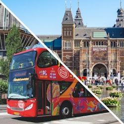 Tickets, museos, atracciones,Tickets, museums, attractions,Rijksmuseum,Rijksmuseum,Tour por Ámsterdam,Con bus turístico