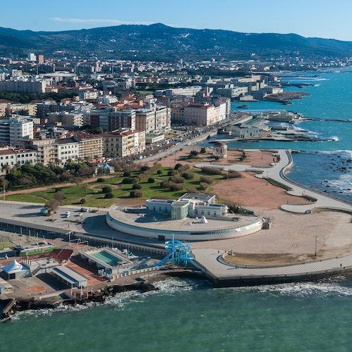 Acuario de Livorno: Sin colas