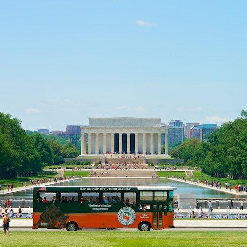 Old Town Trolley turístico por Washington, D.C.
