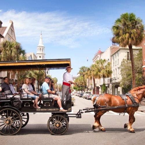 Tour histórico en carruaje de Charleston