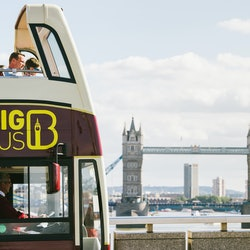 Hop-on Hop-off Bus London + Walking Tour + River Cruise