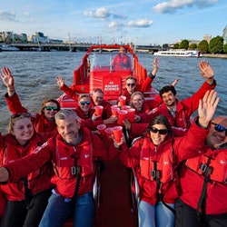 Thames Rockets: Speedboat Experience by Night