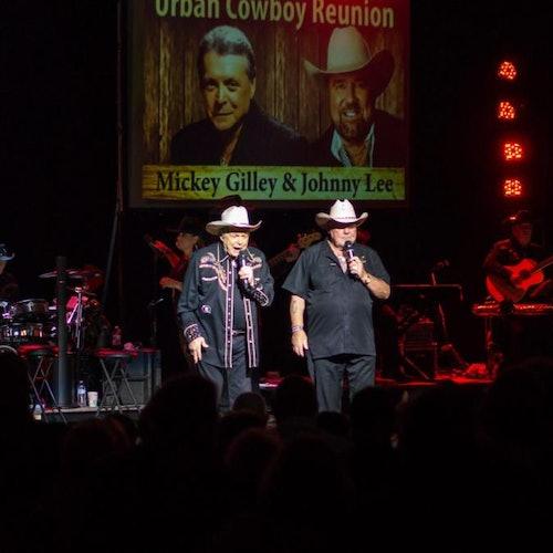 Mickey Gilley y Johnny Lee Urban Cowboy Reunion