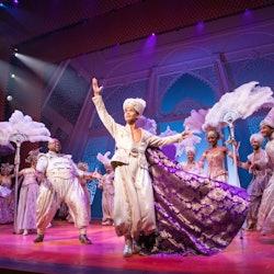 Imagen Aladdin de Disney en Broadway