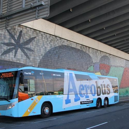 Bild Für Frühanreiser: Aerobús Flughafentransfer Barcelona <> Innenstadt