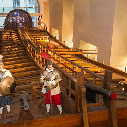 Acuario de Génova + Museo del Mar Galata: Sin colas