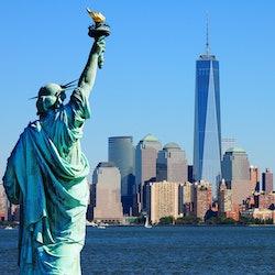 Imagen La Estatua de la Libertad y la Isla Ellis + guía de la ciudad