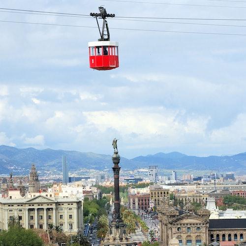Teleférico de Barcelona + Audioguía de Barcelona