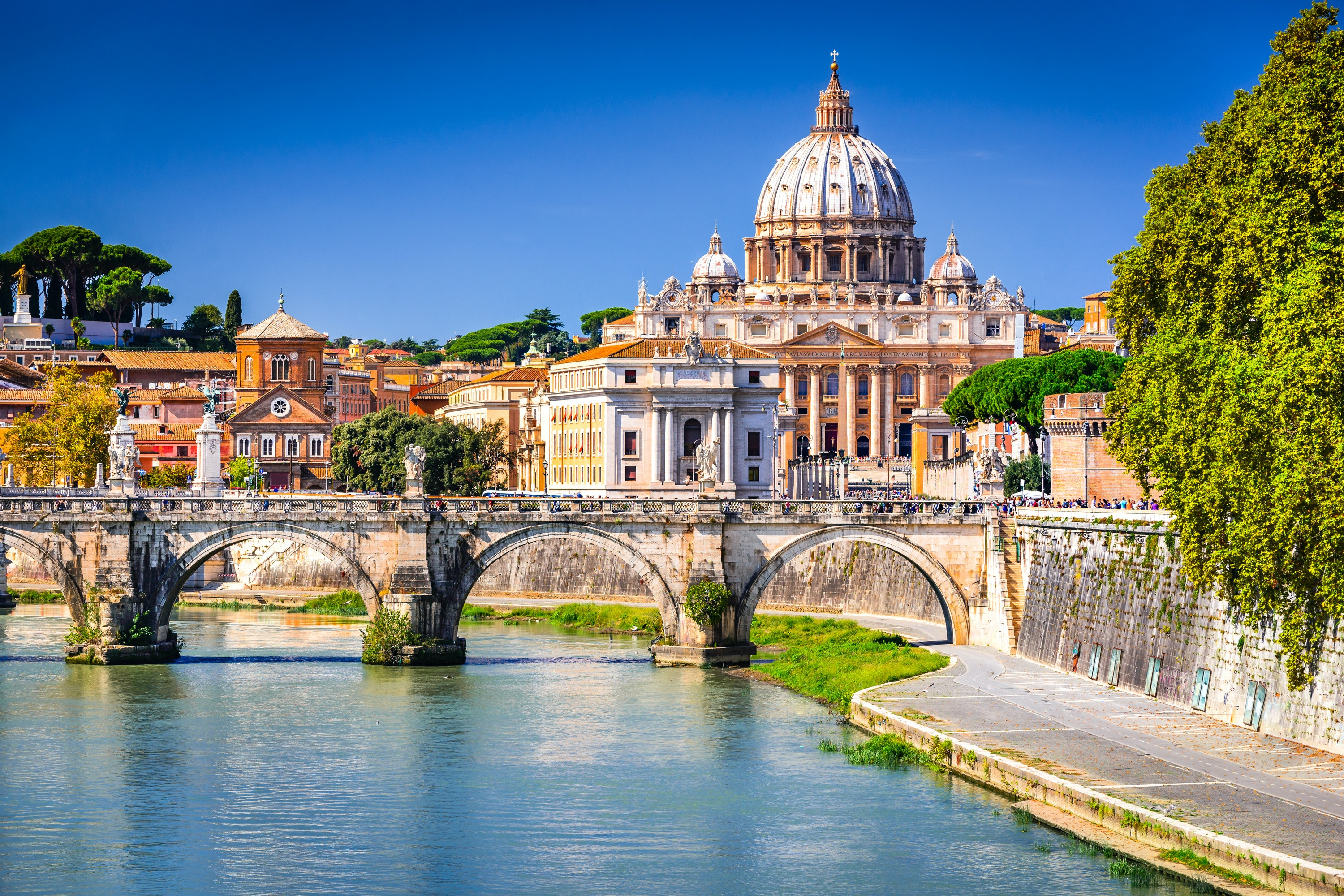 Attractions in Rome, Italy