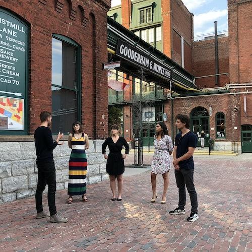 Toronto Distillery District: Food & Drink Crawl