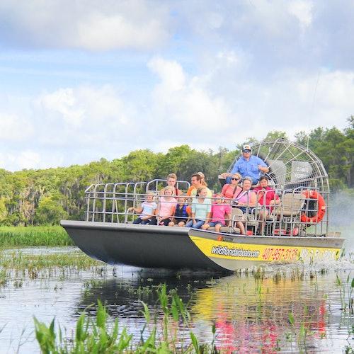 Tour en hidrodeslizador de los Everglades en Florida Central + Wildlife Park