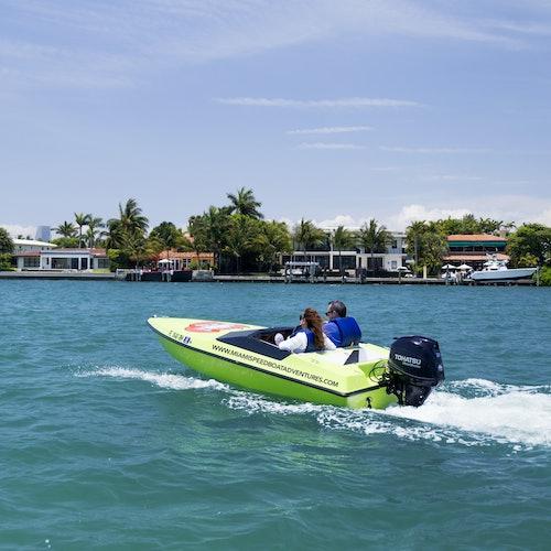 Speed Boat Adventure Miami