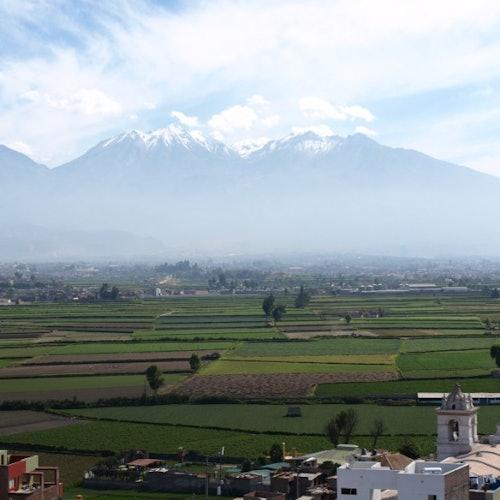 Tour de la ciudad y el campo de Arequipa