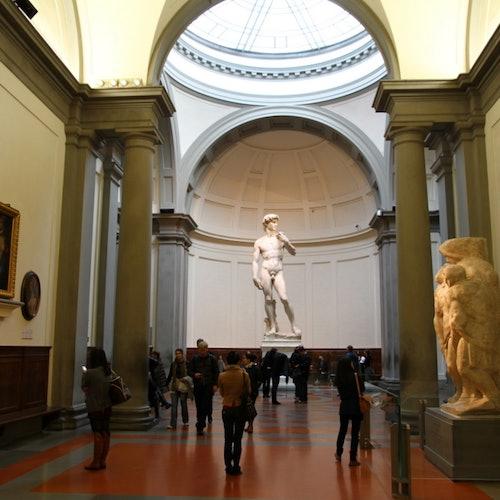 アカデミア美術館:優先入場の写真